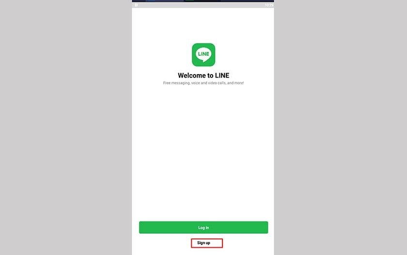 Tại giao diện đăng nhập. Chọn đăng ký – Sign up