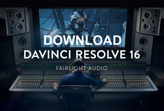 Download Davinci Resolve 16 Full Crack cho Windows, Mac