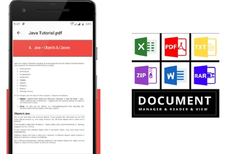 Document Viewer - ứng dụng đọc file pdf
