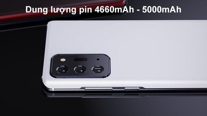 Dung lượng pin Samsung S21 Plus