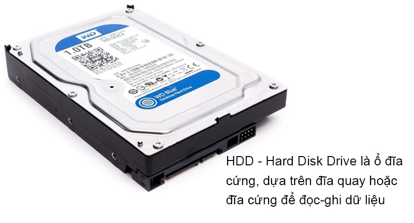 Ổ cứng HDD: