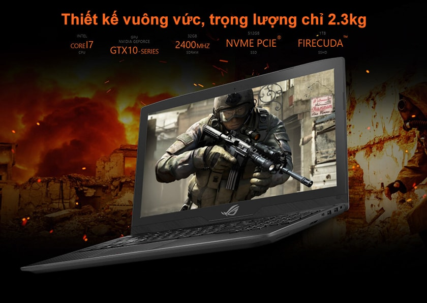 Laptop gaming ASUS ROG Strix Scar Edition