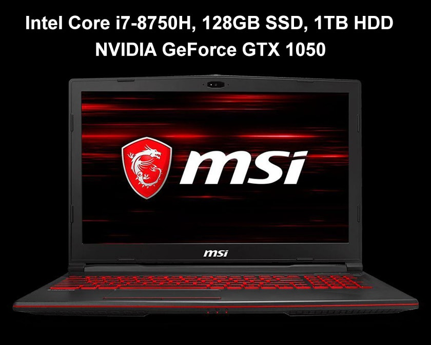 Laptop gaming MSI GL63 8RC-436VN