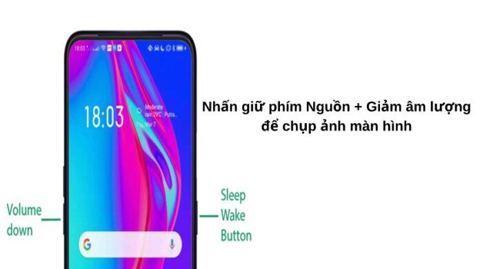 Cách chụp ảnh màn hình điện thoại OPPO A5 chi tiết từ A - Z
