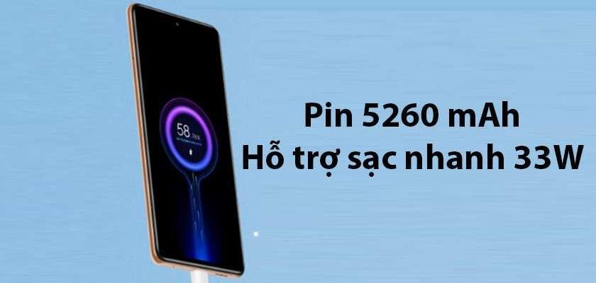 Pin trên Redmi Note 10 Pro 5260 mAh còn iPhone 7 Plus chỉ 2900 mAH