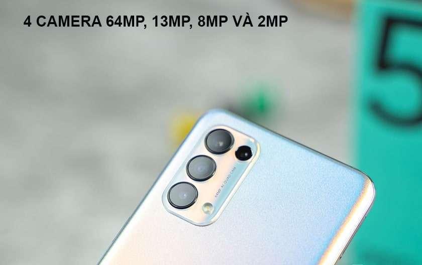 So sánh Samsung Galaxy A72 và Oppo Reno 5 (thiết kế, màn hình, cấu hình, camera, pin)