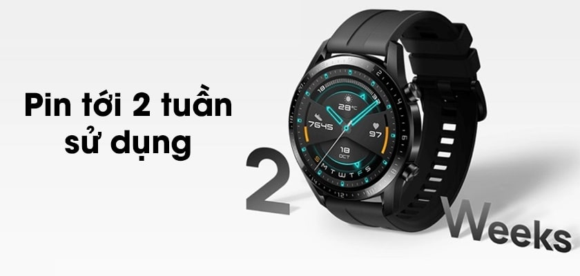 Đánh giá thời lượng pin trên huawei watch gt 2