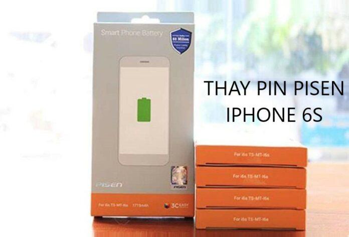 Thay pin Pisen iPhone 6s có tốt không? Đánh giá nhanh