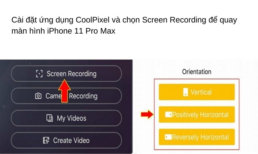 Mở ứng dụng CoolPixel