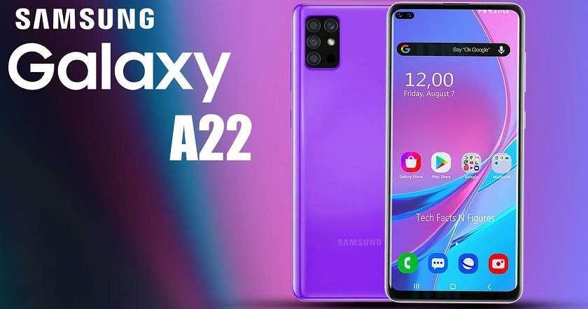 Màn hinh Samsung Galaxy A22 chất lượng, phân giải cao, tích hợp công nghệ mới