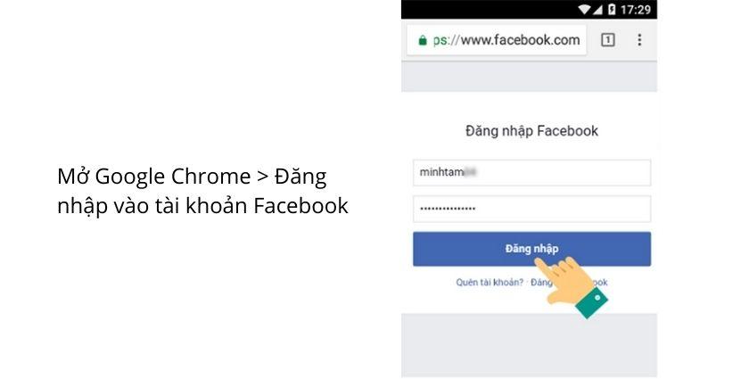 Xem ai vào Facebook của mình nhiều nhất của mình bằng điện thoại Android