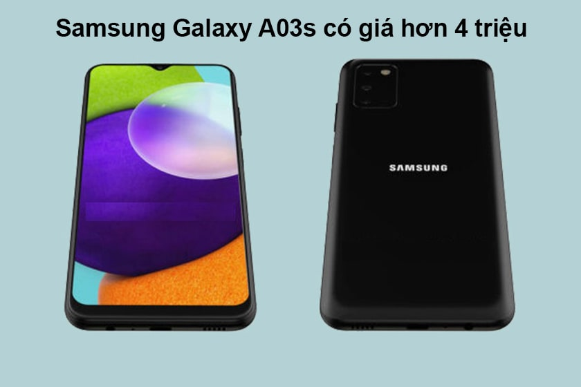 Điện thoại Samsung Galaxy A03s giá bao nhiêu